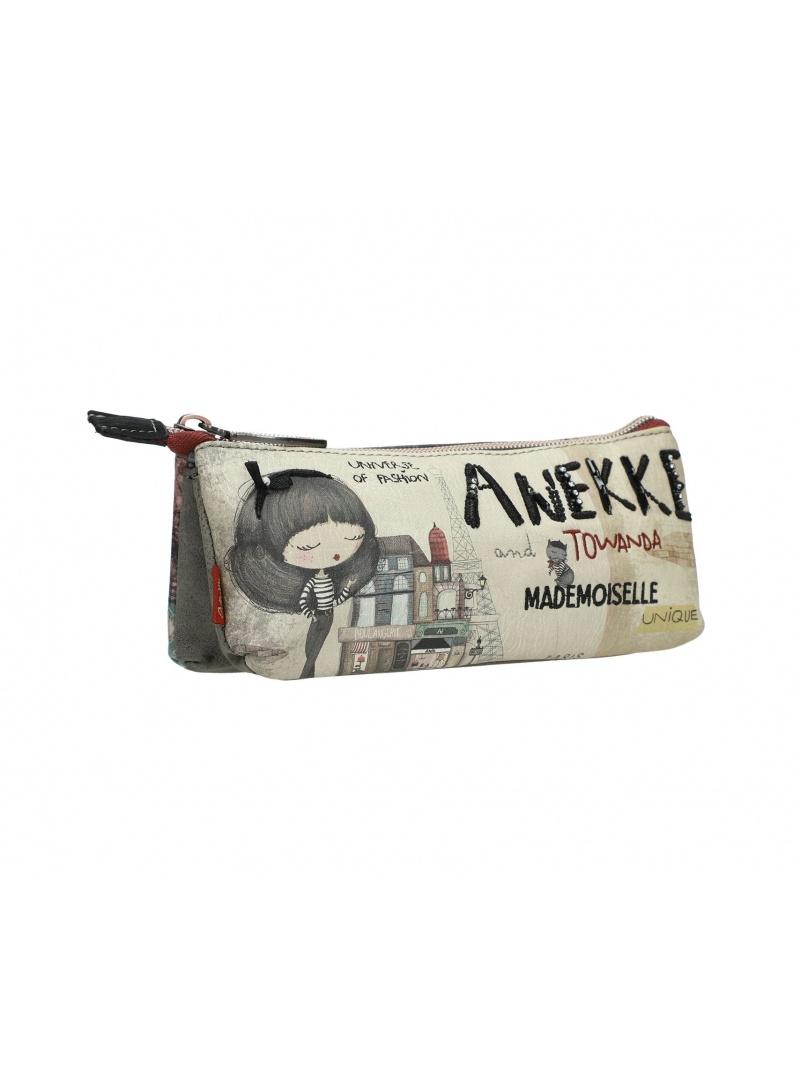 Piórnik / kosmetyczka ANEKKE Couture Beige Synthetic Pencil Case 29888-06