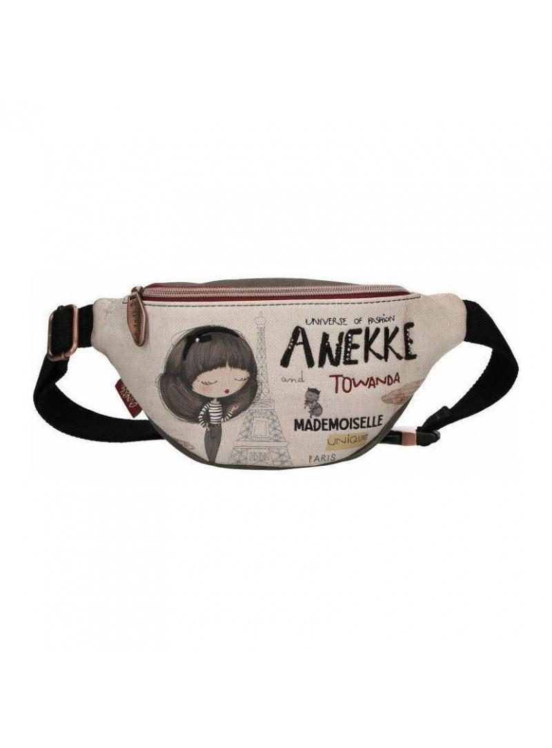 ANEKKE Beig Synthetic Belt Bag 29887-30