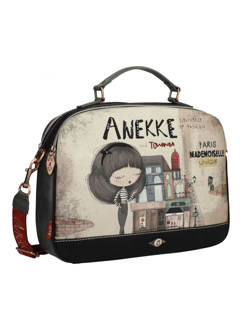 Torba na laptopa ANEKKE Couture Beige Synthetic Briefcase 29884-17
