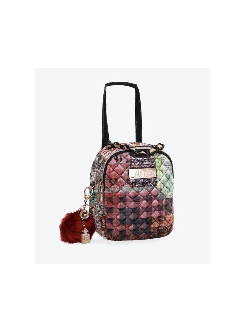 ANEKKE Pink Textile Backpack 29885-45