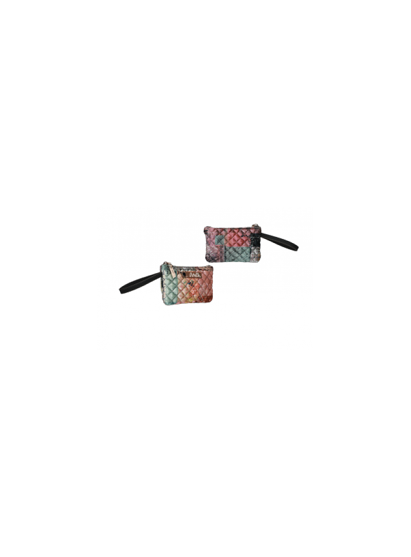Portfel Damski ANEKKE Pink Textile Purse 29888-03