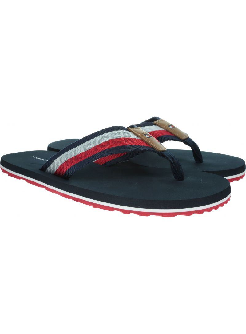 TOMMY HILFIGER Corporate Webbing Beach Sandal FM0FM02266 403