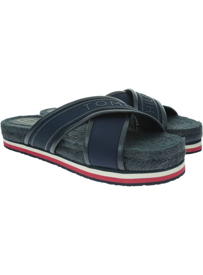 TOMMY HILFIGER Colorful Tommy Flat Sandal FW0FW04159 403