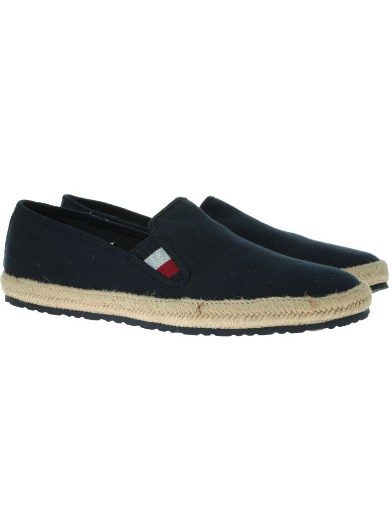 TOMMY HILFIGER Canvas Slipon Espadrille FM0FM02251 403