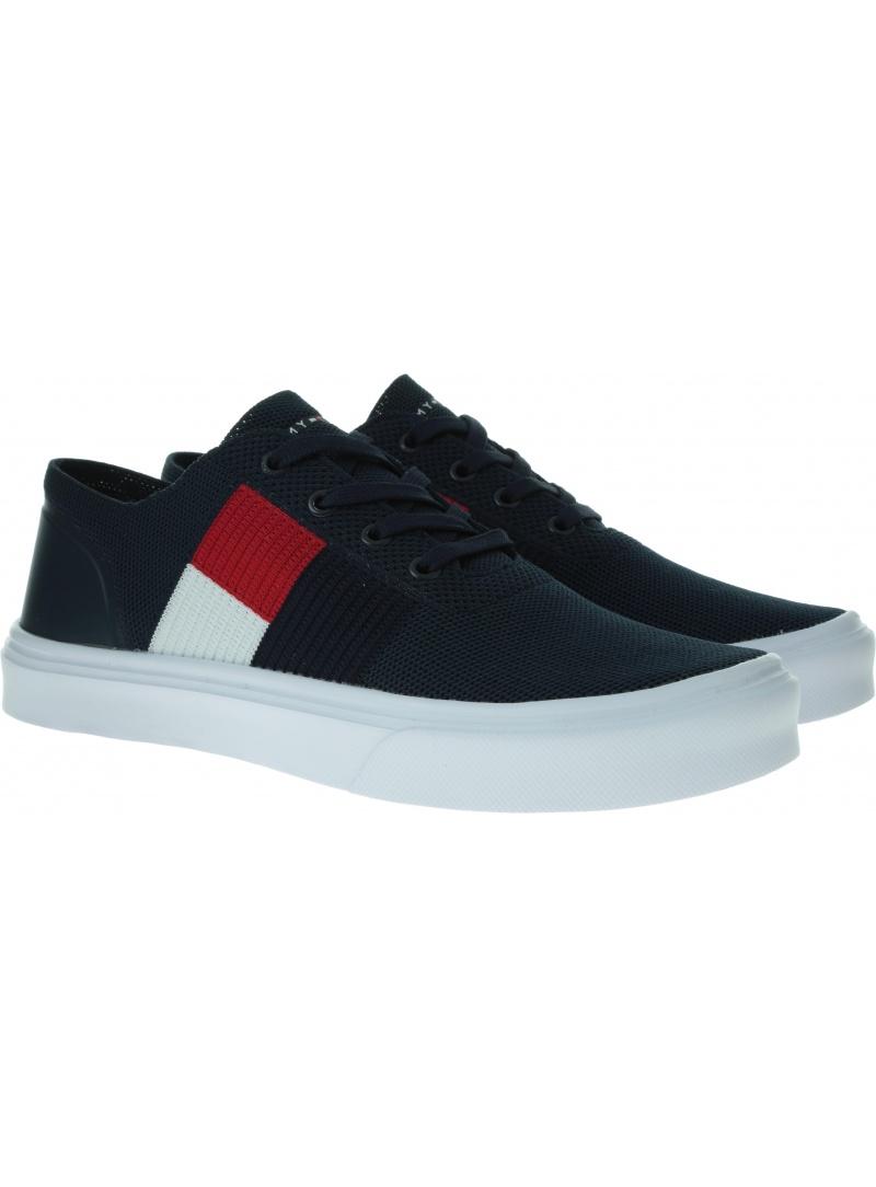 TOMMY HILFIGER Lightweight Knit Flag Sneaker FM0FM02545 CKI