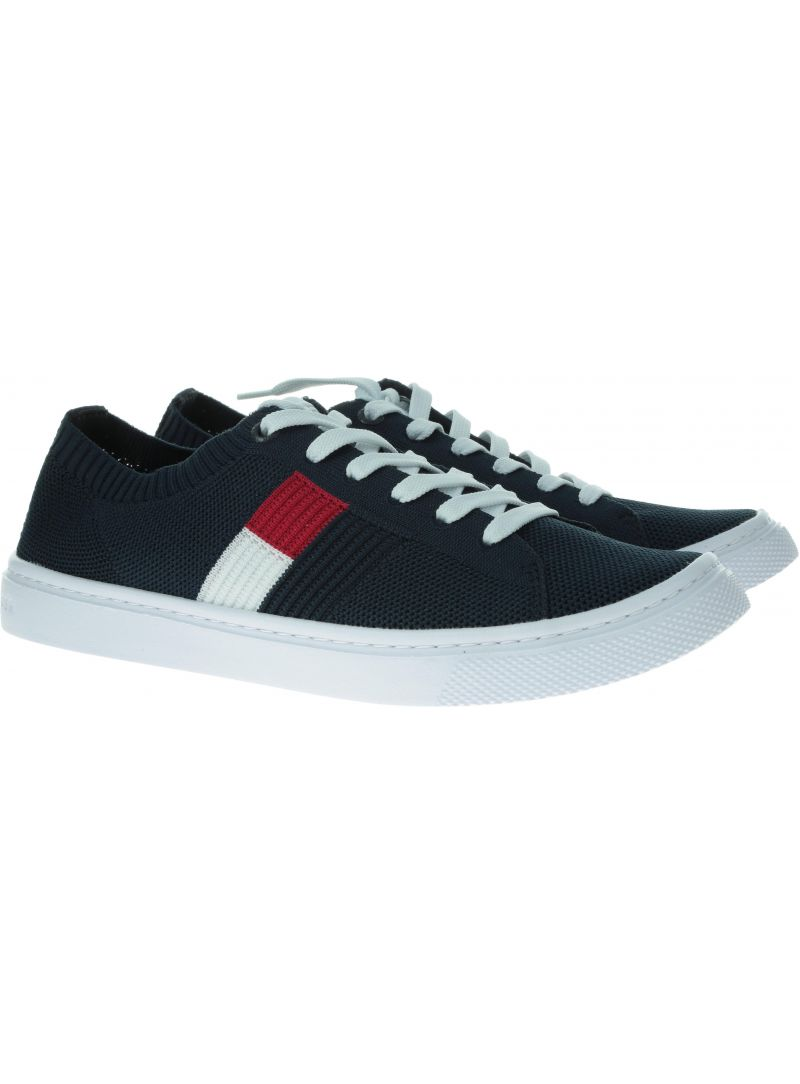 TOMMY HILFIGER Knitted Flag Lightweight Sneaker FW0FW04150 403