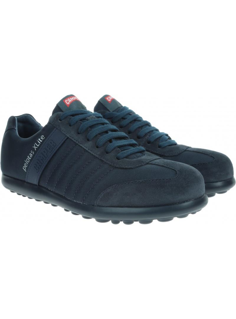 Granatowe Półbuty CAMPER Pelotas Xl Blue 18302-074