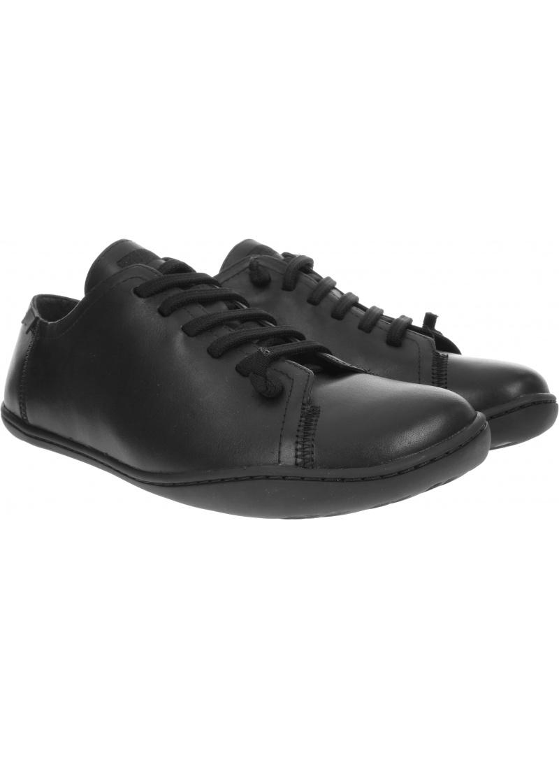 Czarne Półbuty CAMPER Peu Cami Negro 17665-014