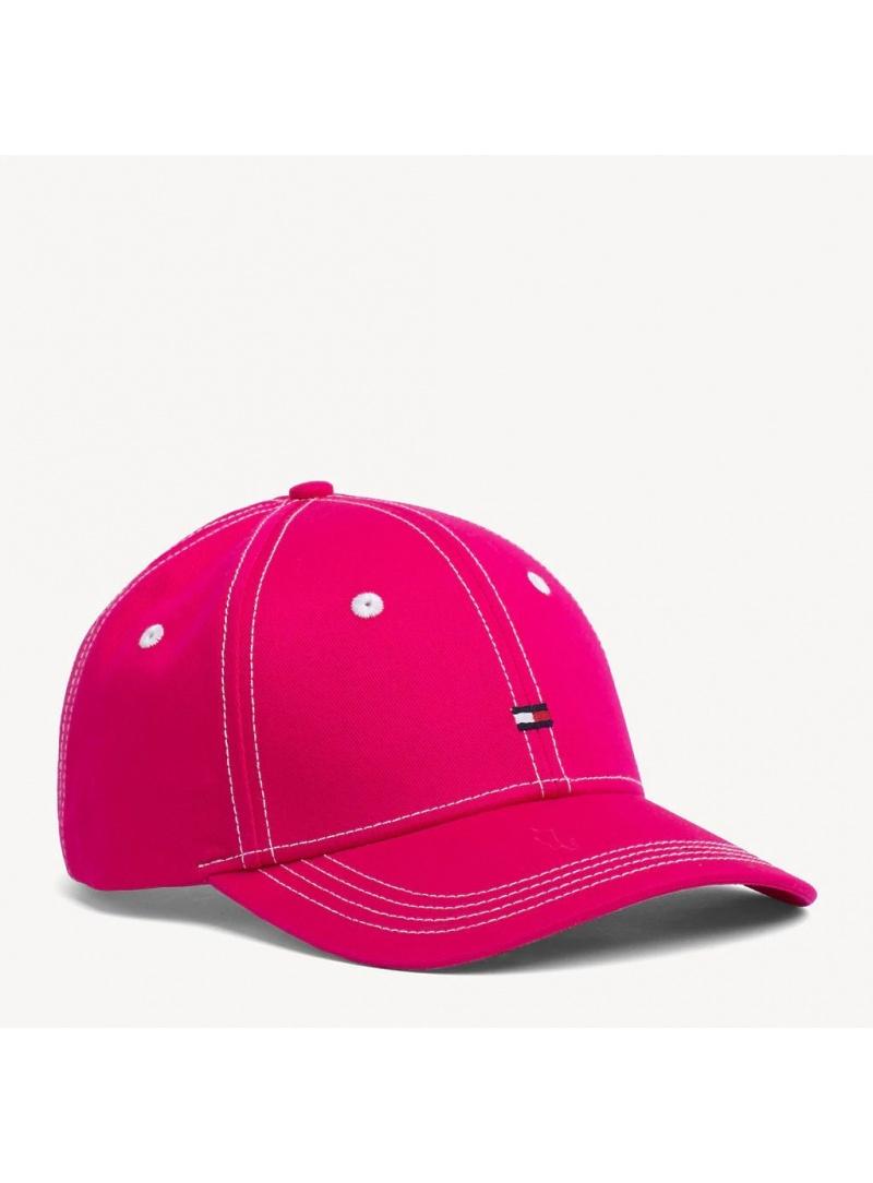 Różowa Czapka z Daszkiem TOMMY HILFIGER BB Cap AW0AW06573 530