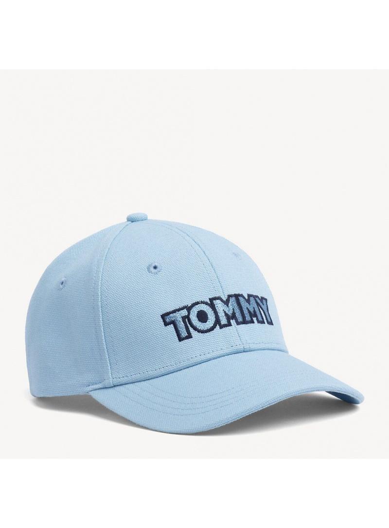 Błękitna Czapka z Daszkiem TOMMY HILFIGER Tommy Patch Cap AW0AW06796 423