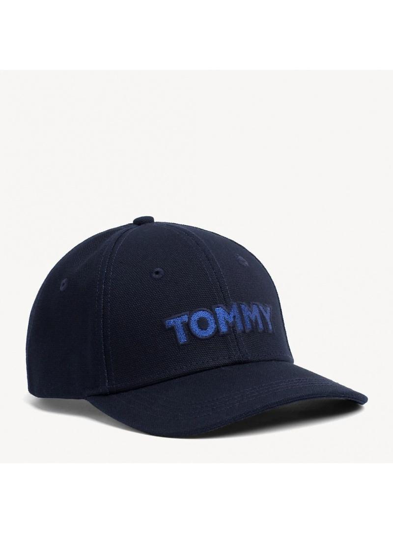 Granatowa Czapka z Daszkiem TOMMY HILFIGER Tommy Patch Cap AW0AW06796 413