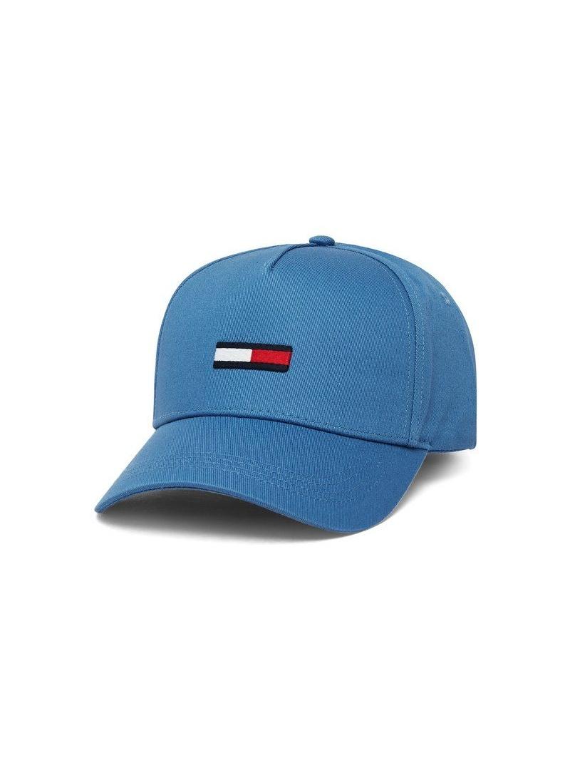 Niebieska Czapka z Daszkiem TOMMY HILFIGER Tjm Flag Cap AM0AM04870 499