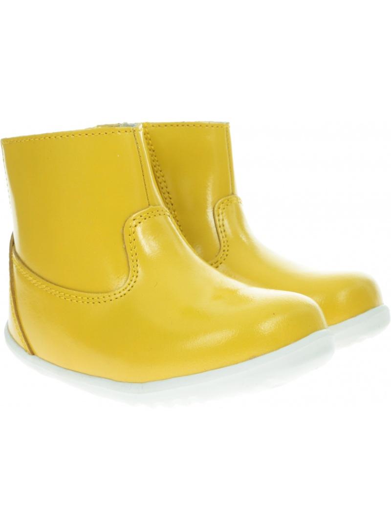 Żółte Wodoodporne Botki BOBUX 729405 CLASSIC PADDINGTON YELLOW