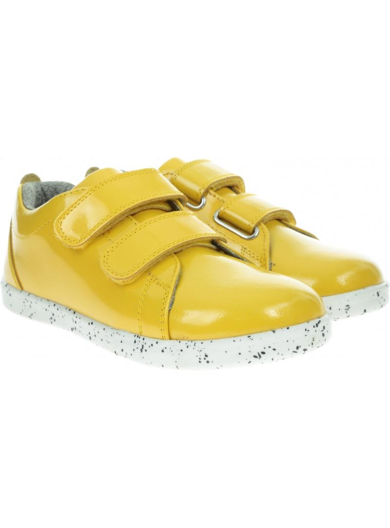 Wodoodporne Żółte Półbuty BOBUX 834903 STREET GRASS COURT YELLOW