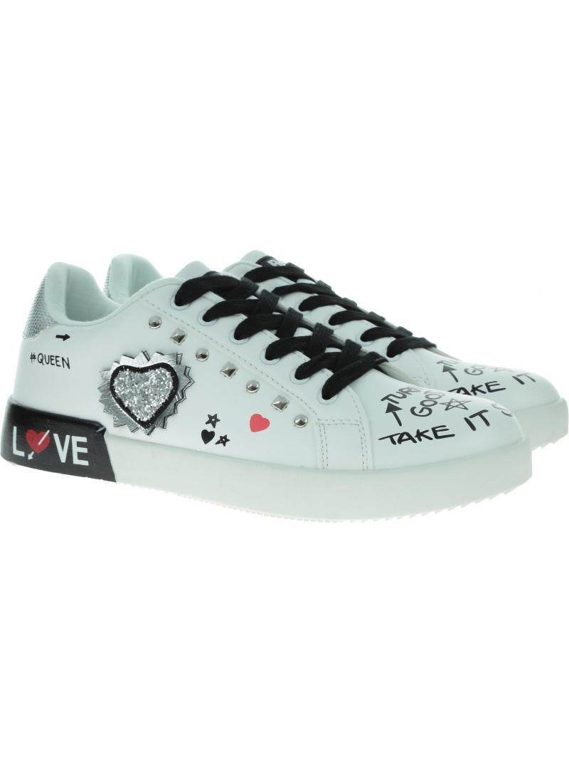 Białe Sneakersy REFRESH 69342 Blanco
