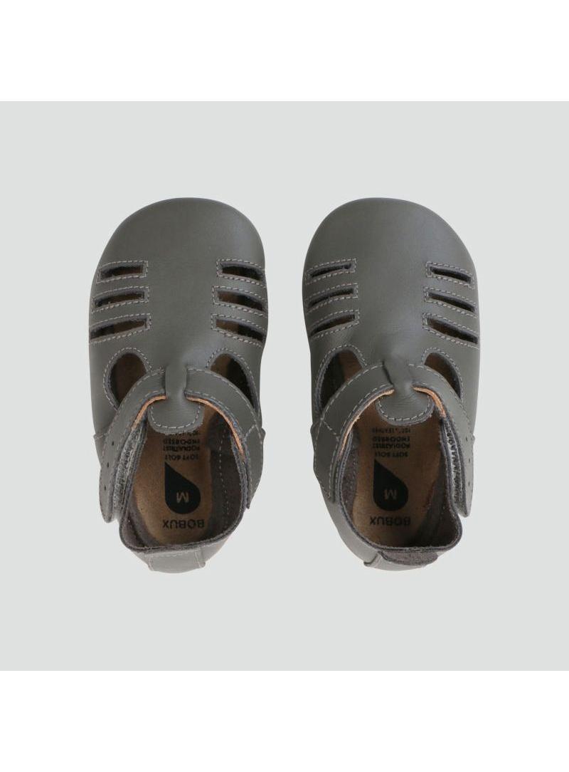 Kapcie Skórzane BOBUX SOFT SOLE GREY CHASE 1007-000-10