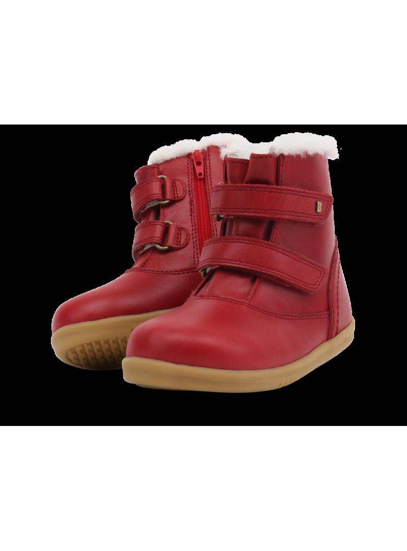 Czerwone Kozaki BOBUX 632512 Classic Aspen Rio Red (Wodoodporny, Wełna