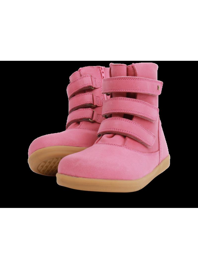 Różowe Kozaki BOBUX 832810 Classic Aspen Rose (Wodoodporny, Wełna Merynosa)
