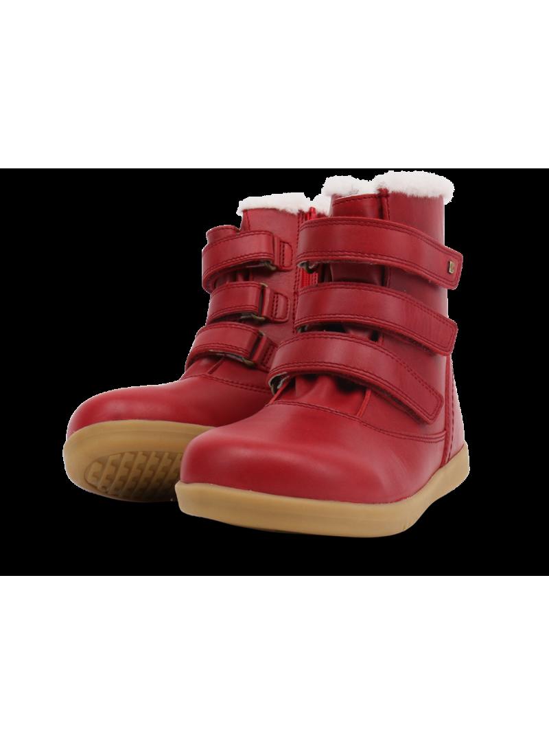 Czerwone Kozaki BOBUX 832812 Classic Aspen Rio Red (Wodoodporny, Wełna