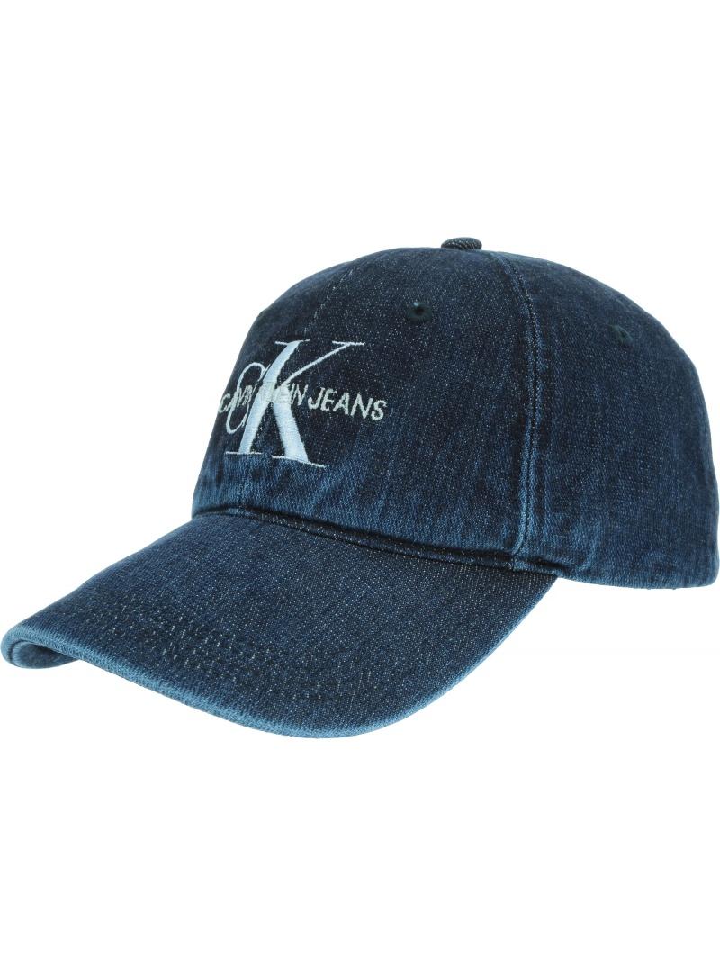 CALVIN KLEIN JEANS MONOGRAM DENIM CAP K60K605704 910