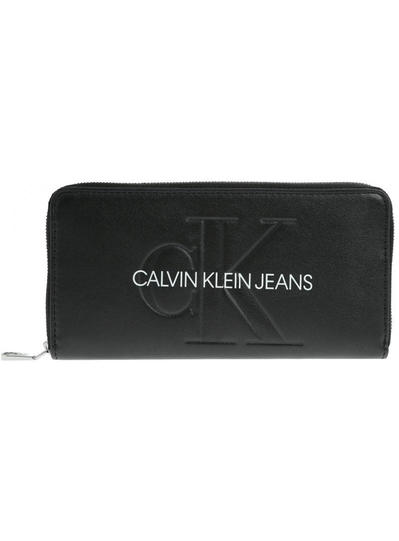 CALVIN KLEIN JEANS Sculpted Large Ziparound K60K605547 001