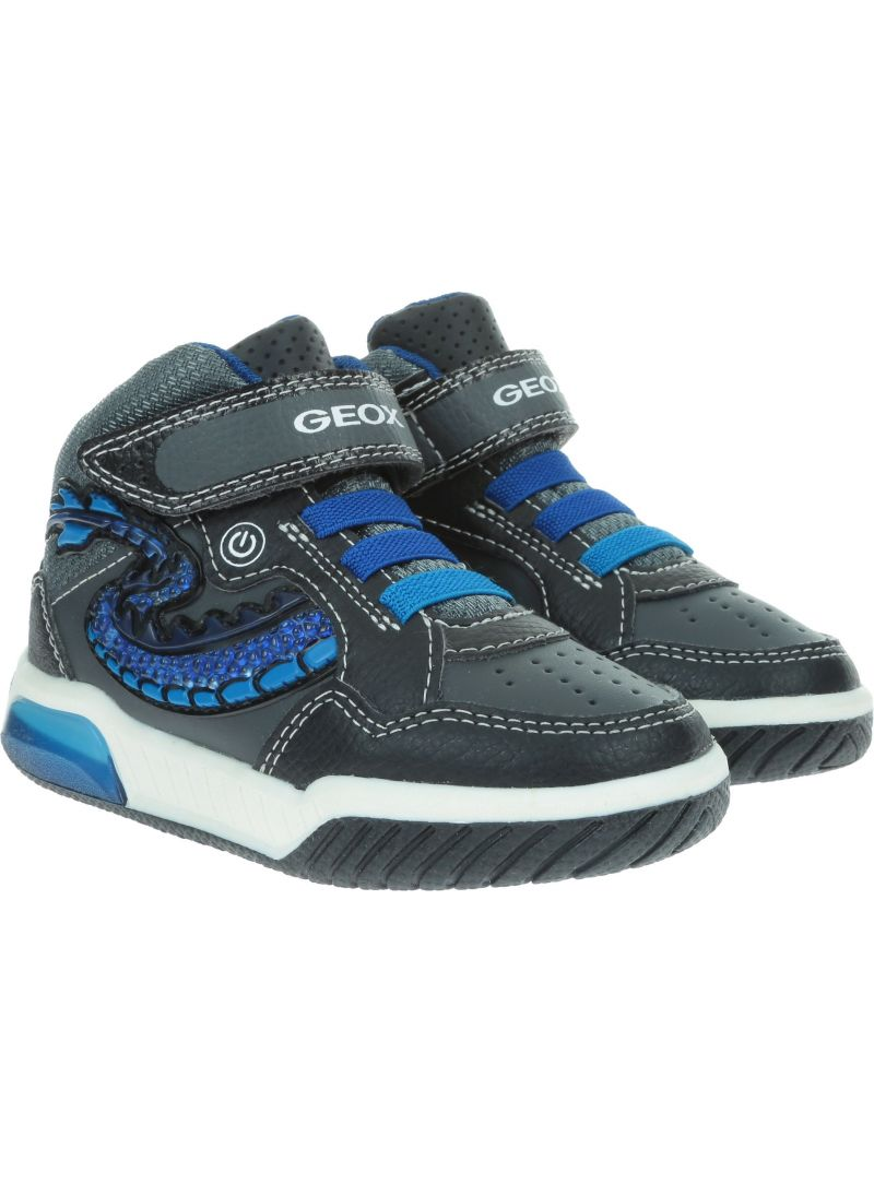 GEOX J INEK J949CE 05411 C0245 Black/Royal