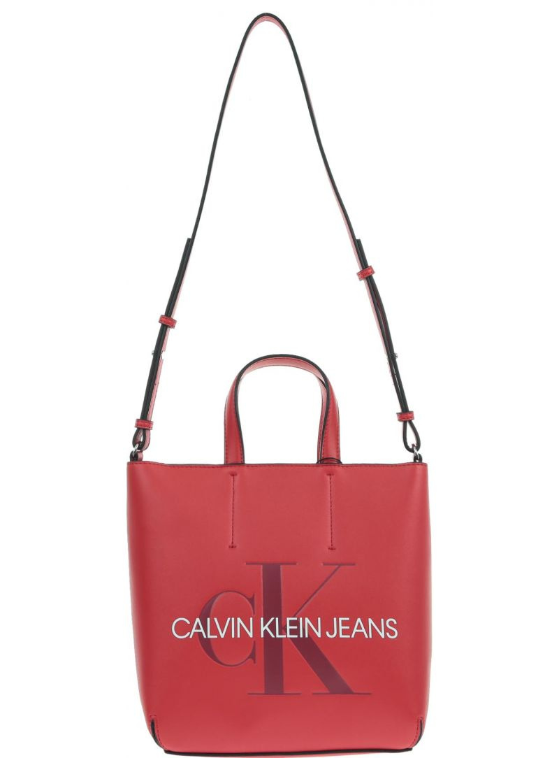 CALVIN KLEIN Sculpted Monogram Mini Tote K60K605522 649