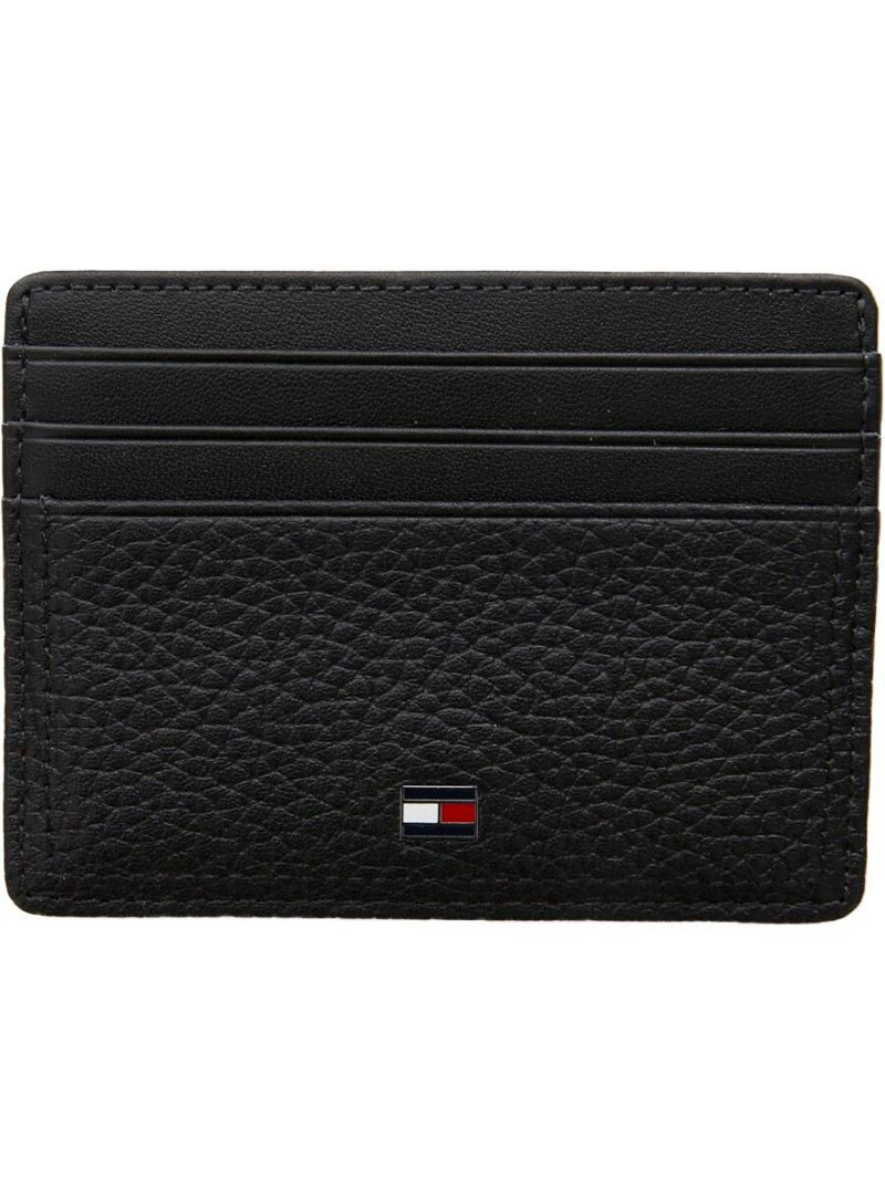 Mały Portfel na Karty TOMMY HILFIGER Th Business Cc Holder AM0AM05005 002