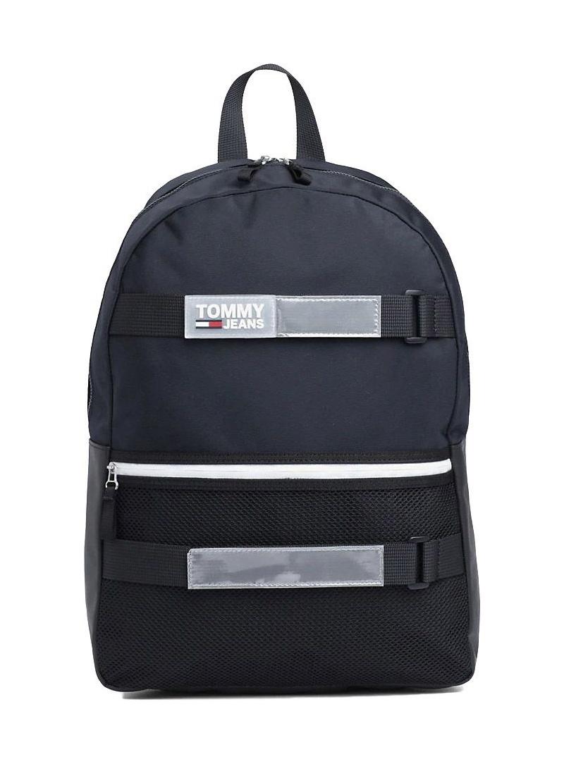 Czarny Plecak z miejscem na laptopa TOMMY HILFIGER Tjm Urban Skate