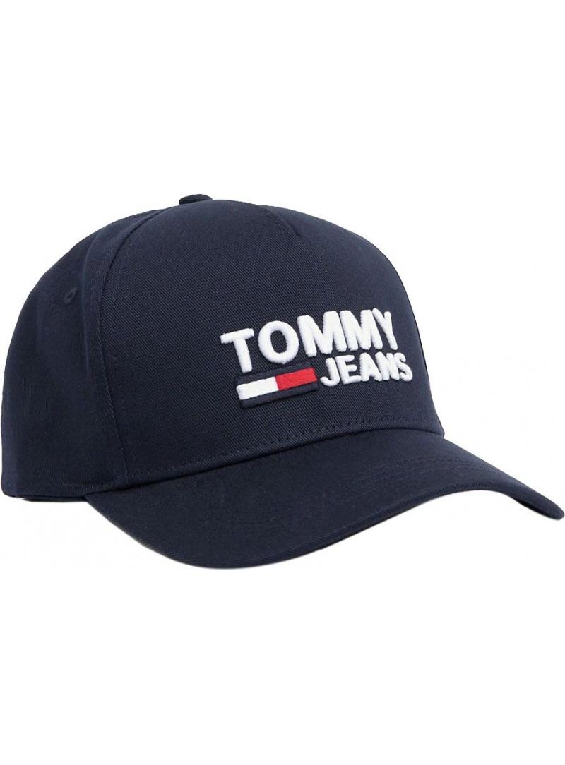 Czapka z Daszkiem TOMMY HILFIGER Tjw Logo Cap AW0AW07037 496