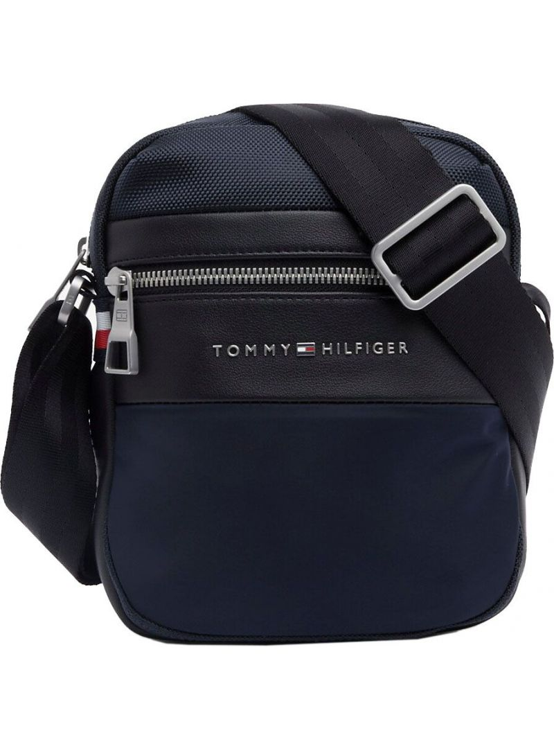 TOMMY HILFIGER Nylon Mix Mini Reporter AM0AM04765 413