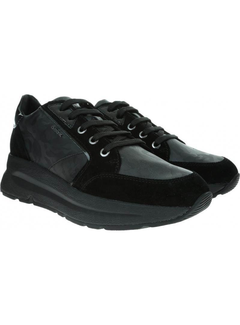 Czarne Sneakersy GEOX Respira D Backsie A D94FLA 06P22 C9999 Black