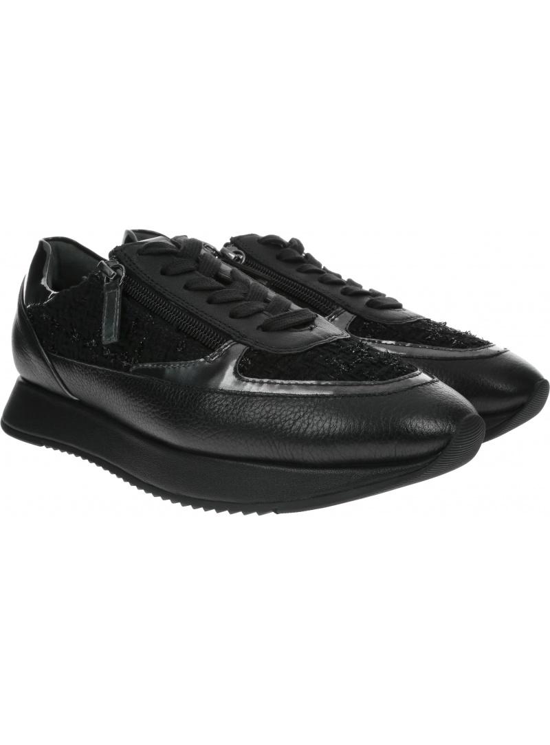 Czarne Sneakersy HOGL THE CLOUD 8-101323 Schwarz 0100