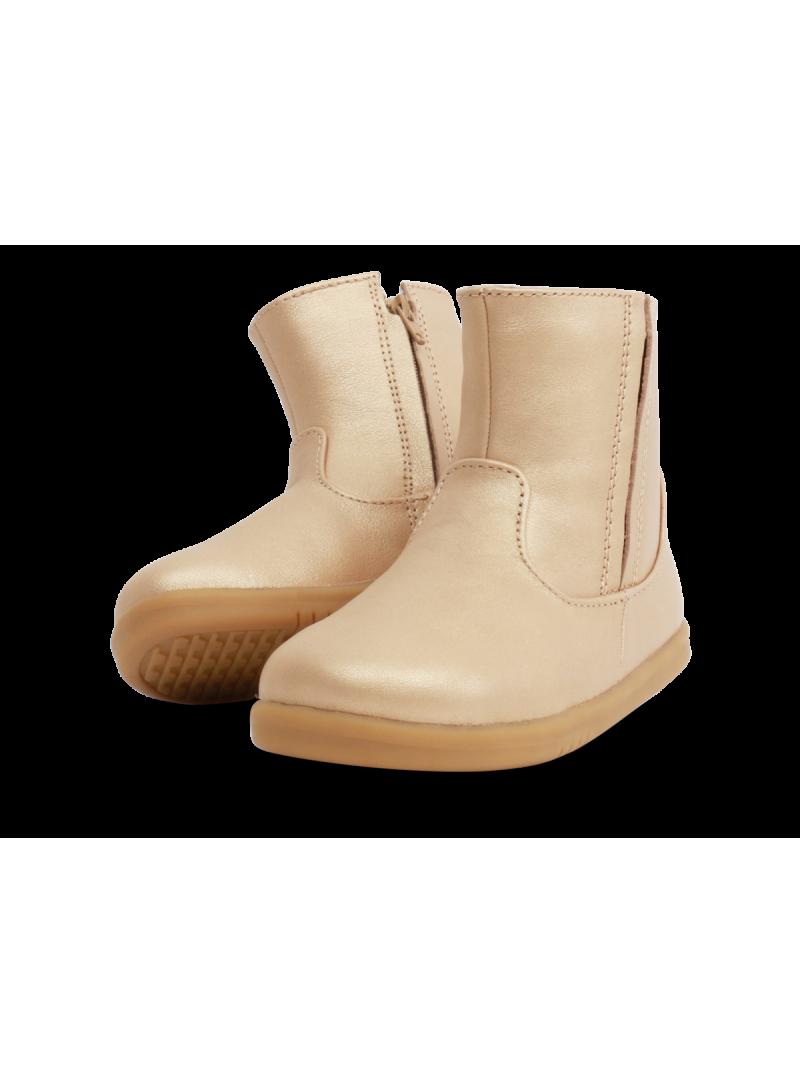Złote Kozaki BOBUX 634703 CLASSIC SHIRE - WINTER BOOT GOLD (WEŁNA MERYNOSA)