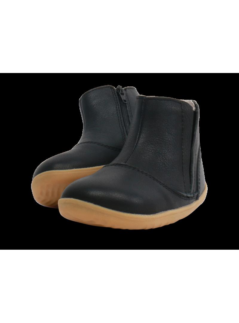 Czarne Kozaczki BOBUX 729504 CLASSIC SHIRE BOOT BLACK (WEŁNA MERYNOSA)