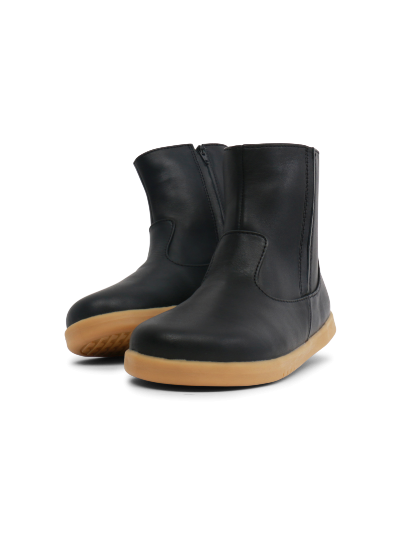 Czarne Kozaki BOBUX 834705 CLASSIC SHIRE BLACK (WEŁNA MERYNOSA)