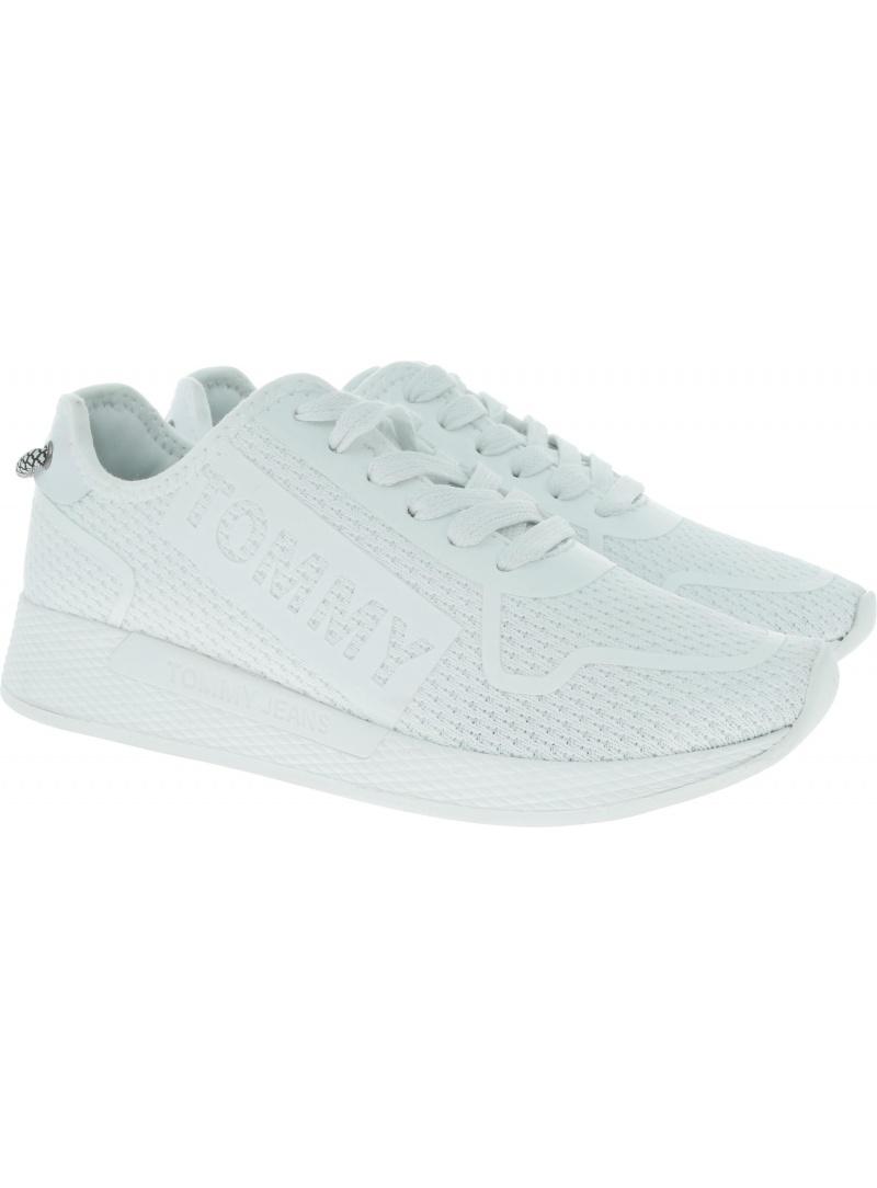 Białe Sneakersy Tommy Hilfiger Technical Flexi Sneaker EN0EN00587 100