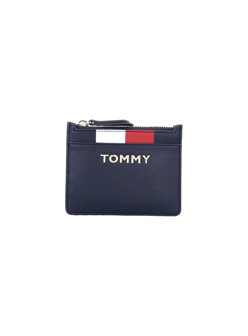 Mały Portfel Damski TOMMY HILFIGER Th Corporate Mini Cc AW0AW06954 413