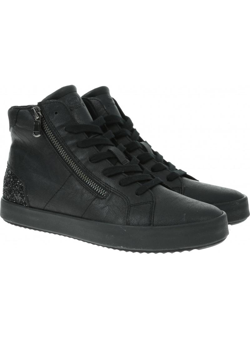 Czarne Sneakersy GEOX Respira D Blomiee B D946HB 0PVEW C9999 Black