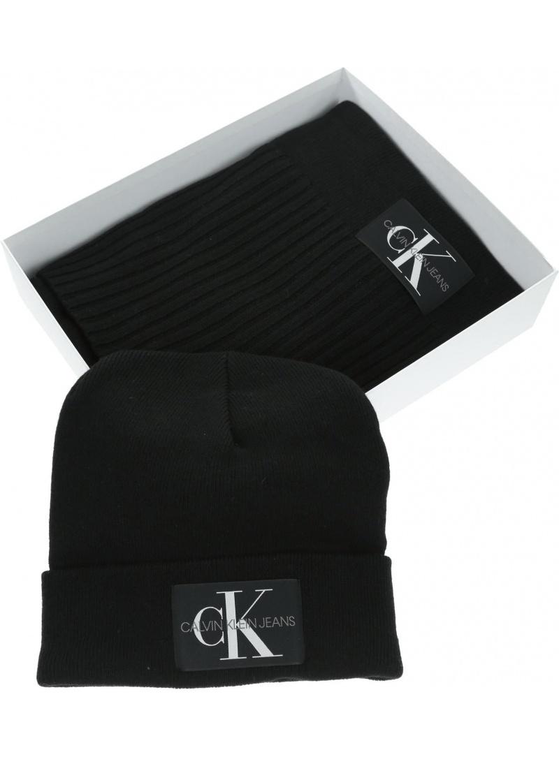 Zestaw Szalik i Czapka CALVIN KLEIN JEANS Giftpacks K50K505104 BAE