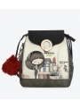 Plecak Torba ANEKKE DELIGHTFUL GREY PRINTED DESIGN BACKPACK 29885-39COC