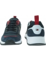Granatowe Sneakersy TOMMY HILFIGER Fashion Mix Sneaker FM0FM02389 020