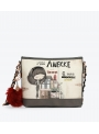 Torebka ANEKKE COUTURE COOL GREY CROSSBODY BAG 29882-55COC
