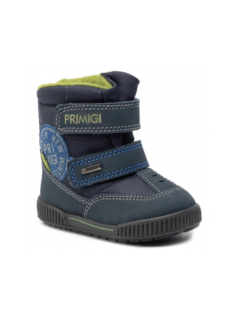 Granatowe Śniegowce PRIMIGI GORE-TEX 4369211 Blu