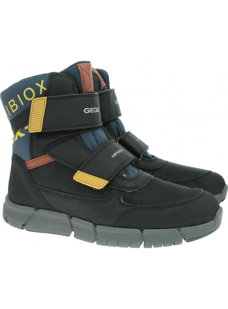 Śniegowce GEOX J Flexyper B Abx B J949XB 0FUCE 4429