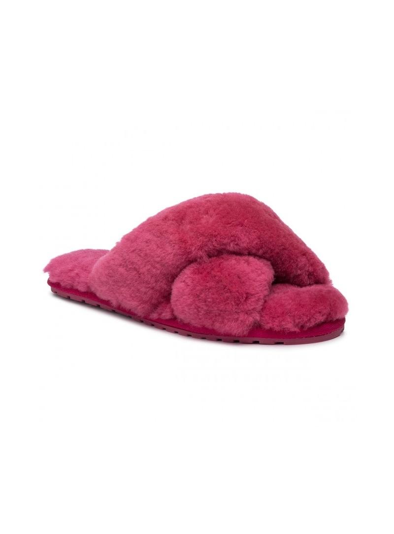 Różowe Kapcie EMU AUSTRALIA Mayberry W11573 Berry