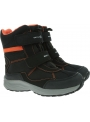Śniegowce GEOX Alaska Wpf J847PE 004FU C0038 D Black/Orange
