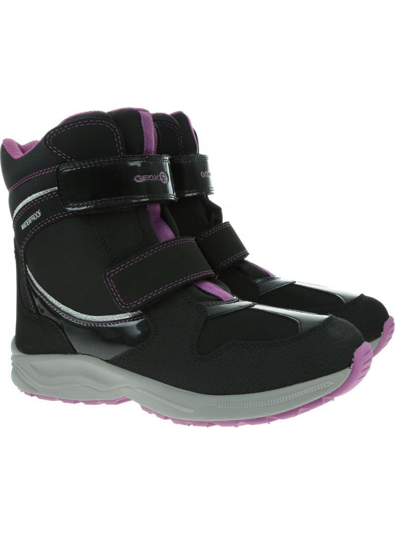 Śniegowce GEOX Alaska Wpf J948BA 050FU C9233 D Black/Violet