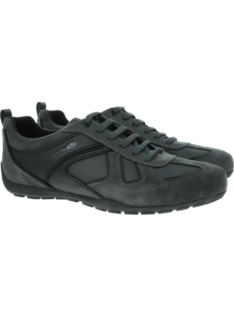 Szare Sneakersy GEOX U Ravex D U923FD 022BU 9211