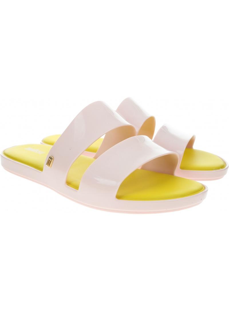 Beżowe Klapki MELISSA Color Pop Ad 32799 Pink/Yellow 50839